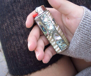 lighter and fire image