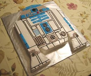 cake, food, and r2d2 image