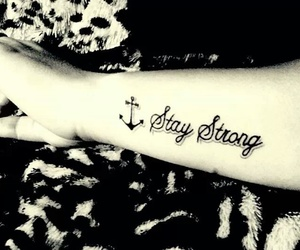 tattoo and stay strong image
