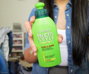hair, tumblr, and green image