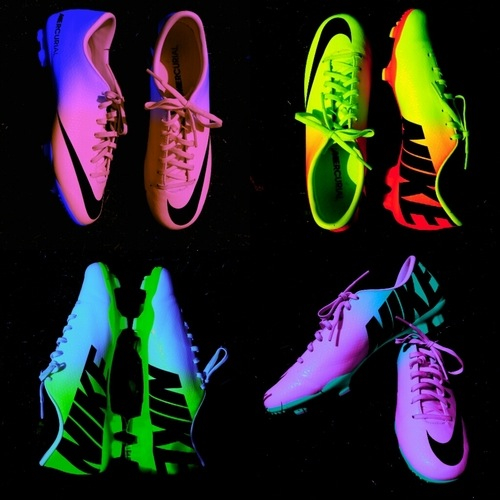 cleats, football, and nike image