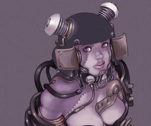 anime, big, and helmet image