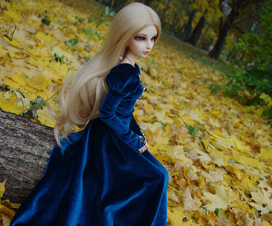 angel, bjd, and blue image