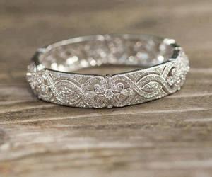 beautiful, intricate, and wedding riing image