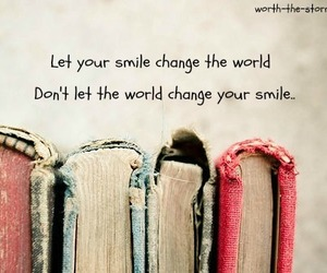 books, smile, and world image
