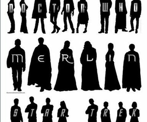 merlin, supernatural, and doctor who image