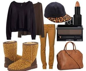 brown, fashion, and girly image