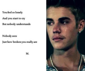 poem, sad, and belieber image