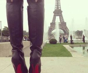 paris and shoes image
