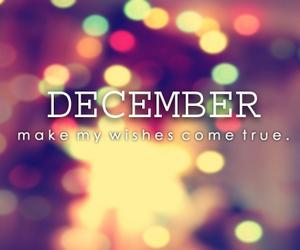 december, wish, and christmas image
