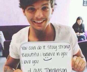 one direction, louis tomlinson, and stay strong image