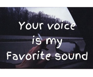 voice, love, and sound image