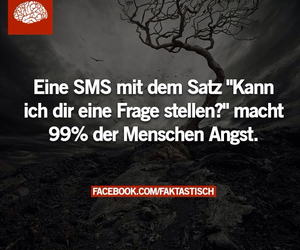 angst, sms, and facebook image