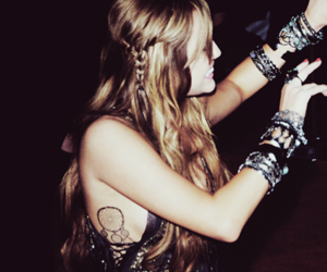 miley cyrus, tattoo, and party image