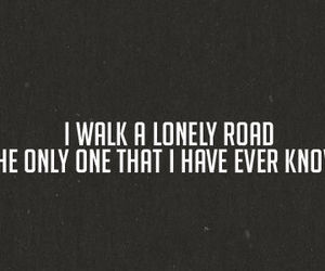 green day, Lyrics, and lonely image