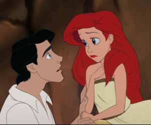 ariel, prince eric, and the little mermaid image