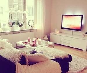decor, love, and house image