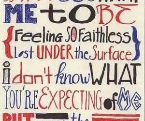 Lyrics, linkin park, and depressed quotes image