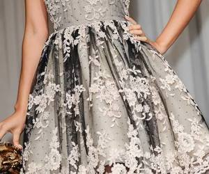 fashion, dress, and haute couture image