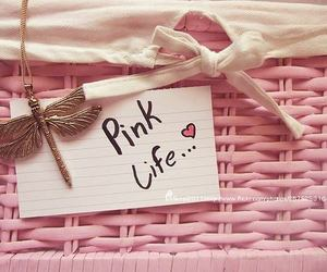 pink, life, and heart image