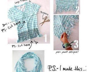 scarf, diy, and tutorial image