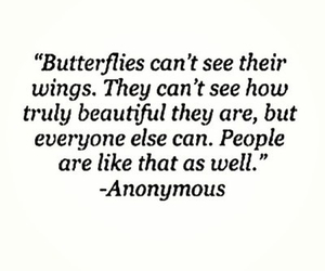 butterfly, quotes, and people image