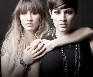 photography, sisters, and haash image