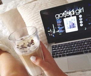 gossip girl, girl, and chocolate image