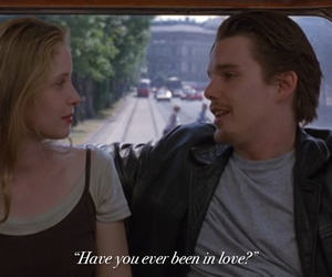 before sunrise, movie, and movie quote image