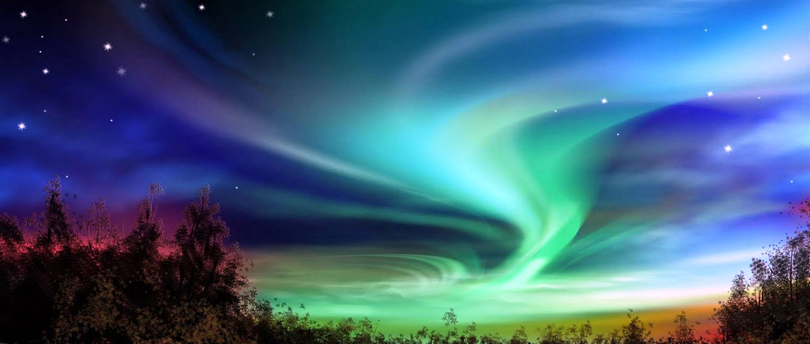 - Christmas Northern Lights Discovered By JoonieMoon
