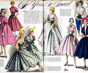 dresses, ladylike, and poofy image