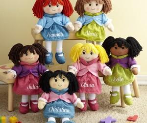 christmas, gifts, and christmas dolls image