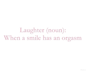 smile, laughter, and text image