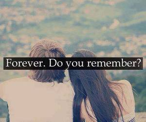 forever, love, and remember image