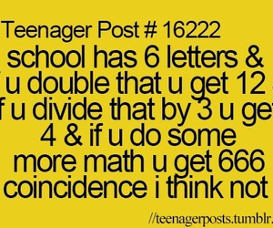 teenager post, lol, and math image