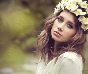 flowers, beautiful, and olesya rulin image