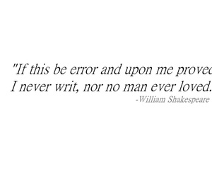 error, quote, and shakespeare image