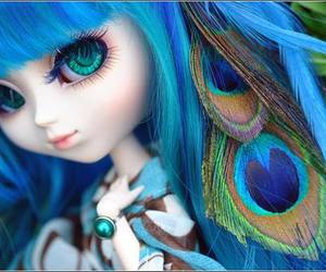 blue, pullip, and eyes image