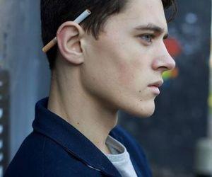 boy, cigarette, and model image