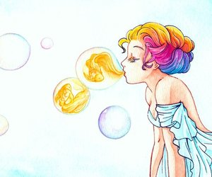 bubbles and fish image