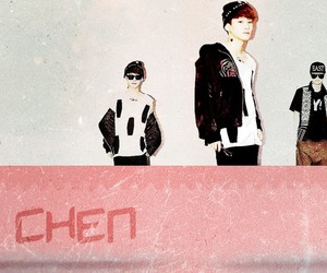 Chen, exo, and wallpaper image