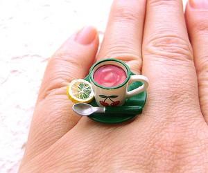 cherry, lemon, and ring image