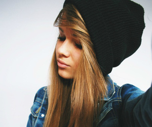 girl, hair, and swag image