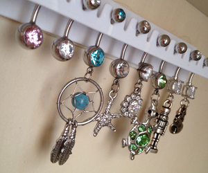 dreamcatcher, Piercings, and belly rings image
