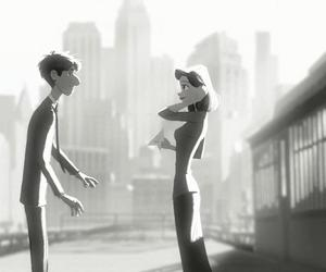 love, paperman, and cute image