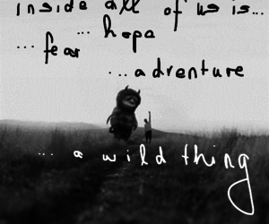 adventure, childhood, and where the wild things are image