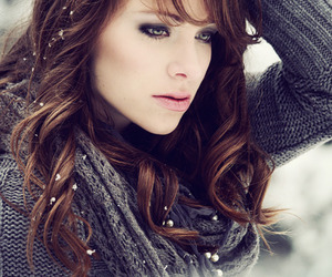 girl, winter, and beauty image
