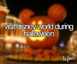 Halloween, disney, and disney world image