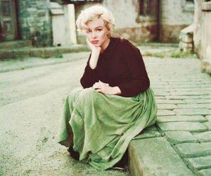 color and Marilyn Monroe image