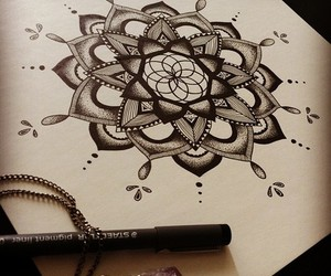 art and pen image